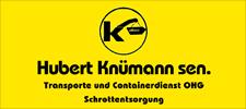 Hubert-Knuemann-Transporte-Recycling-Schrott-Container-Unser-Bottrop-App-Logo